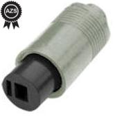 2Pin DIN 41529 Female Speaker Inline Socket New Female Connector