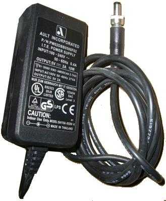 AULT INC PW02DBB0500F02 AC ADAPTER OP 5vdc 2a 10w 2.1x5.5x10 mm