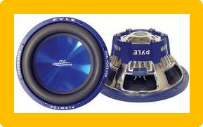 "Pyle PL-BW104 Blue Wave High-Powered Subwoofer - 10"", 1000W Max"