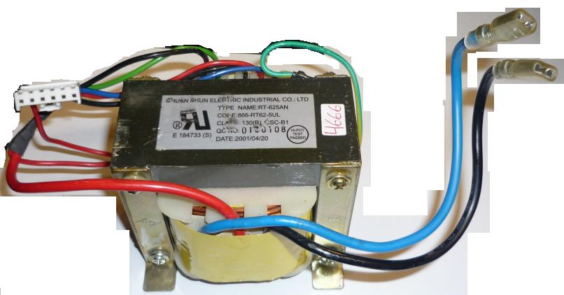 CHUAN SHUN RT-625AN TRANSFORMER FOR UPS