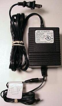 SKYNET DND-3005-A AC DC ADAPTER 30V 500mA LEXMARK PRINTER POWERS