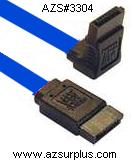 Dell 0M8865 Blue SATA CABLE SERIAL ATA 90° Right angle one side