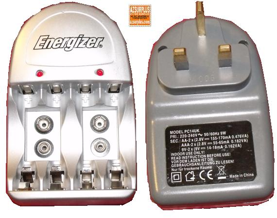 ENERGIZER PC14UK BATTERY CHARGER AA AAA
