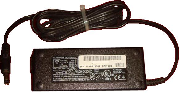 EOS ZVC50SG20S17 AC ADAPTER 20VDC 2.5A Epson Printer POWER SUPPL