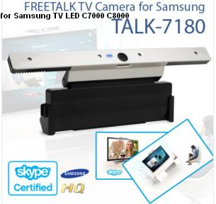 FREETALK HD TALK-7180 TV Camera NEW for Samsung LED C7000 C8000