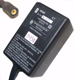 HEINE E7 AC ADAPTER 6VDC 0.7A USED RC FEMALE - ---C--- + POWER