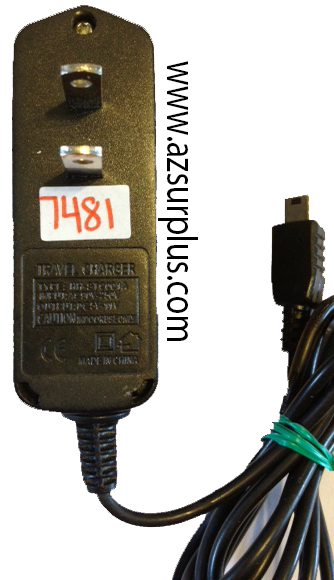 HH-STC001A 5VDC 11A USED TRAVEL CHARGER POWER SUPPLY 90-250VAC