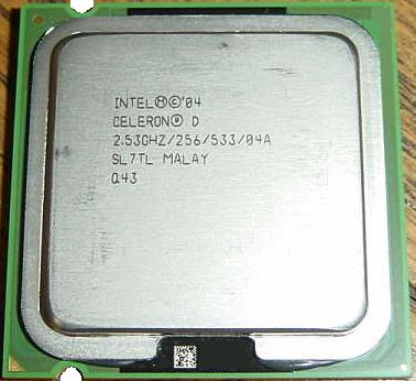 Intel Celeron SL7TL CPU 2.53 GHz 256 FSB 533 04A Socket 775