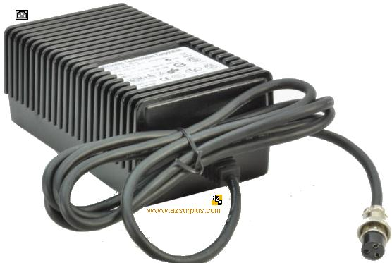 Intermec 851-075-001 AC ADAPTER 12VDC 6A Used 3Pin 12mm 3(.'.)1