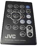 JVC RM-SNXPN10A infrared PORTABLE DVD Remote Control 21 Buttons