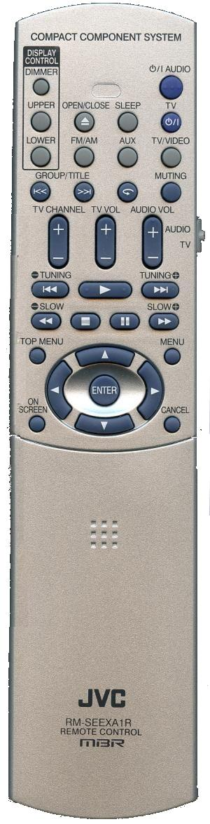 JVC RM-SEEXA1A infrared Universal AV Programmable Remote Control
