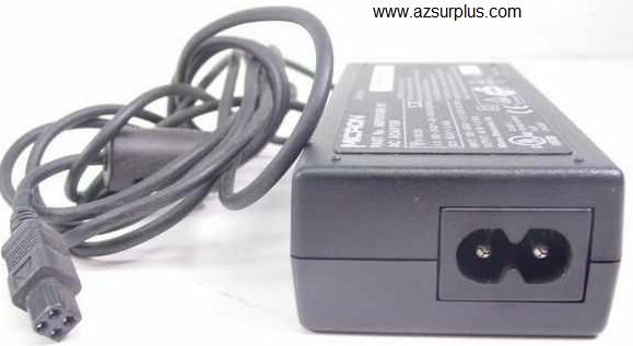 MICRON NBP001088-00 AC ADAPTER 18.5V 2.45A Used 6.3 x 7.6 mm 4 P