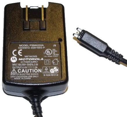 MOTOROLA PSM4250A AC ADAPTER 4.4V 1.5A CELLPHONE CHARGER