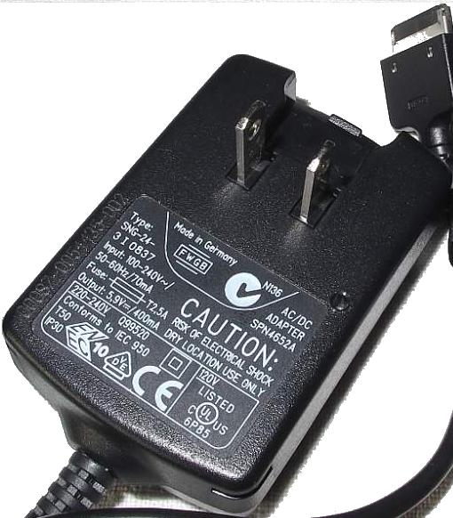 MOTOROLA PSM4562A AC ADAPTER 5.9V DC 400mA Used