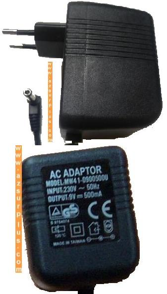 SDN MW41-0900500U AC DC ADAPTER 9VDC 500mA EUROPE POWER SUPPLY 2