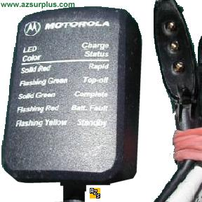 Motorola NTN9393A AC ADAPTER 4.2VDC 0.4A Class 2 Battery Charger