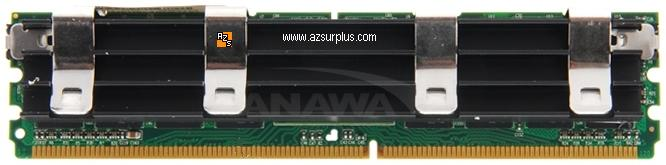 Nanya 1GB PC2-6400F 800Mhz 240 pin DDR2 DIMM ECC NEW Fully Buffe