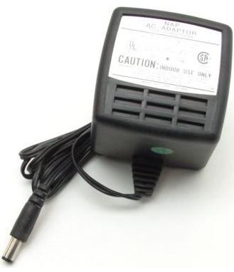 NAP DV-1280 AC ADAPTER 12V DC 800mA 16W POWER SUPPLY