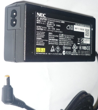 NEC ADP-90YB C AC ADAPTER 19V DC 4.74A POWER SUPPLY