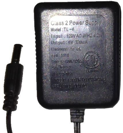 NINGBO TALLER ELECTRICAL TL-6 AC ADAPTER 6VDC 0.3A USED 2.1x5.4