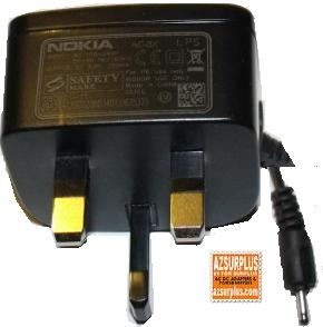 NOKIA AC-3X AC ADAPTER CELL PHONE CHARGER 5.0V 350mA EUOROPE VER