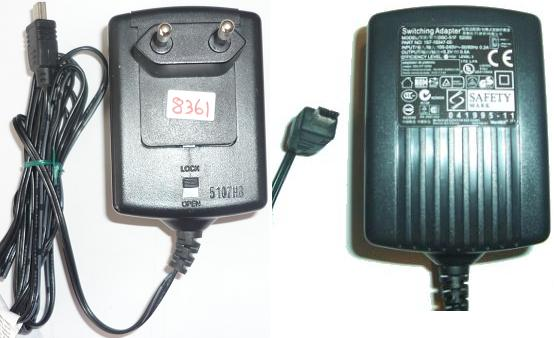 NetBit DSC-51F 52050 AC Adapter 5.2VDC 0.5A USED USB PIN EUROPE