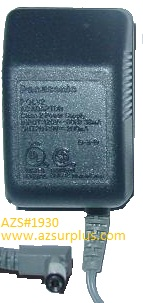 PANASONIC PQWATC1461M1 AC ADAPTER 9VDC 200mA +(-) 2x5.5mm 120vac
