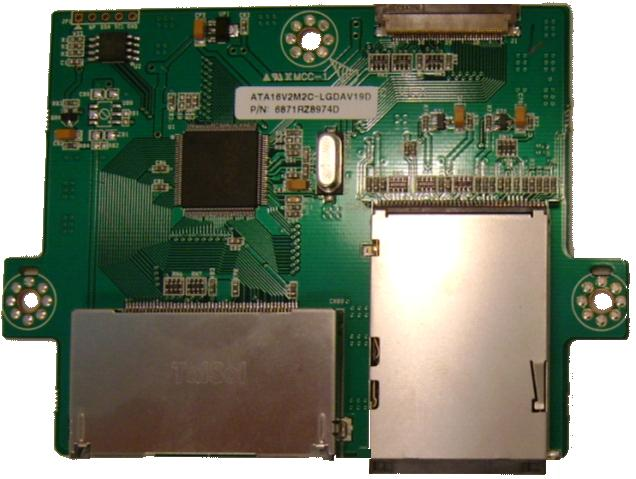 PHILIPS LG ATA16V2M2C-LGDAV19D CARD READER Board PCB LRA-760