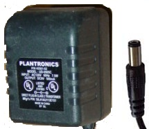 PLANTRONICS UD-0702 AC ADAPTER 7.5VDC 200mA 6W POWER SUPPLY
