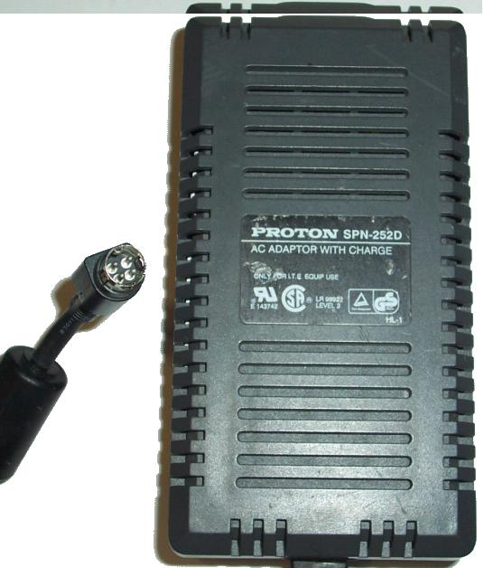 PROTON SPN-252D AC DC ADAPTER 12-15V 23W POWER SUPPLY