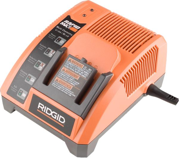 RIDGID R840091 AC ADAPTER 9.6-18V 4.1A USED LITHIUM ION Ni-Cad R