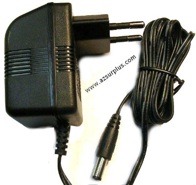 SCEPTRE G090030D25 AC ADAPTER 9V DC 300mA 2.7VA USED EUROPE PLUG