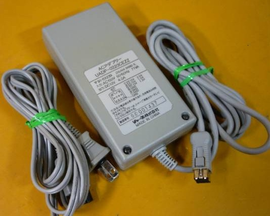 SHARP UADP-0220CEZZ AC ADAPTER 13VDC 4.2A 10pin Square LCD TV PO