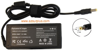 Replacement ST-C-075-12000600CT AC ADAPTER 12VDC 4.5-6A -(+) 2.5 - Click Image to Close