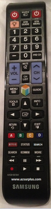 Samsung AA59-00638A Infrared Remote Control 48 Buttons Black LN-