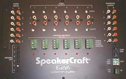 Speakercraft Eazy6 6-Zone Multi-Room Source Preamplifier Remote - Click Image to Close