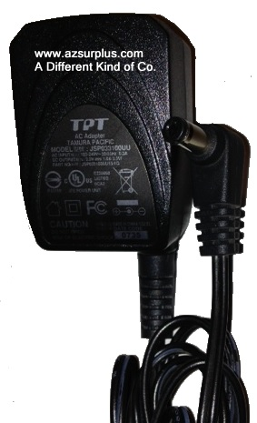 TPT JSP033100UU AC ADAPTER 3.3VDC 1A 3.3W Used 3 x 5.4 x 9.6 mm