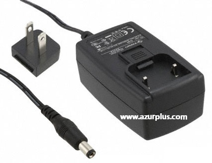 V INFINITY EMSA240167 AC ADAPTER 24VDC 1.67A -(+) Used 2x5.5mm S