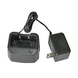 VERTEX NC-77C TWO WAY RADIO CHARGER WITH KW-1207 AC ADAPTER 12V