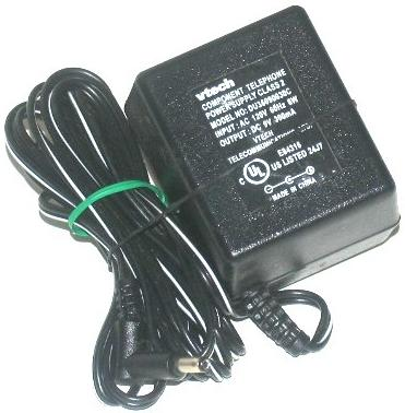 VTECH DU35090030C AC Adapter 9VDC 300mA 6W CLASS 2 TRANSFORMER P