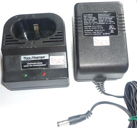 WJ-Y482100400D AC ADAPTER 21VDC 400mA USED TOOLMASTER BATTERY CH