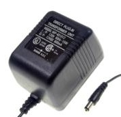 WP-481012 AC ADAPTER 12VDC 800mA USED 2x5.5x10mm -(+)-