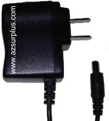 YD-001 AC ADAPTER 5VDC 2A NEW 2.3x5.3x9mm STRAIGHT ROUND BARREL