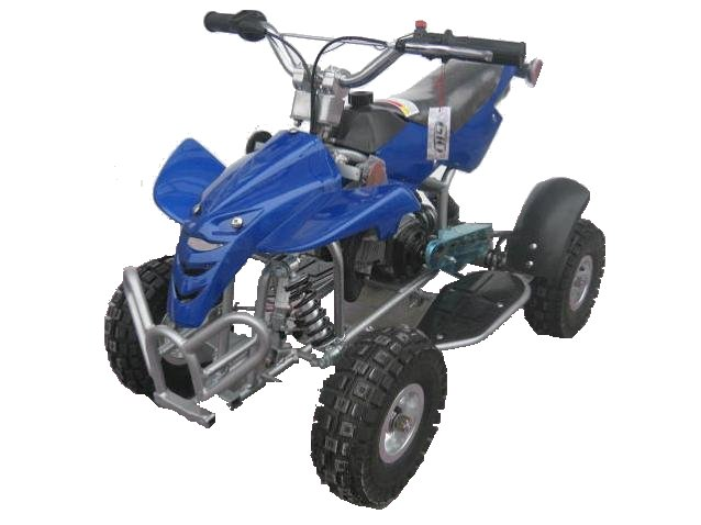 GIOVANNI 49cc GAS MINI POCKET ATV Quad BLUE New