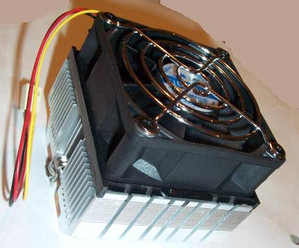 CIDICOM DC BRUSHLESS 5U213C1H3R BALL BEARING CPU COOLER FAN AMD