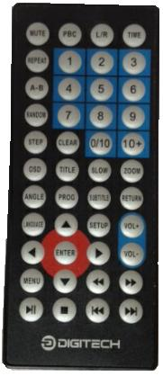DIGITECH REMOTE CONTROL USES CR20225 LITHIUM CELL USED