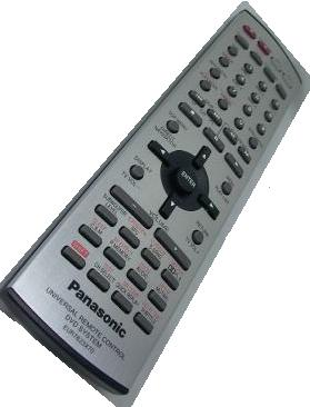 PANASONIC eur7623x70 UNIVERSAL REMOTE CONTROL FOR HOME THEATER D