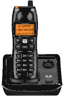 GE 25922 Wireless HANDSET CORDLESS Home Phone SYSTEM 5.8 GHZ