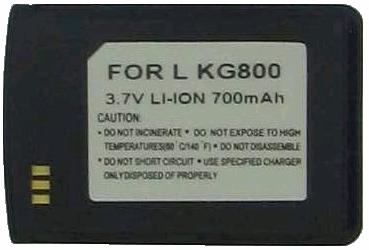 Battery KG-800 3.7V 700mAh Li-ion RECHARGEABLE LG Chocolate New