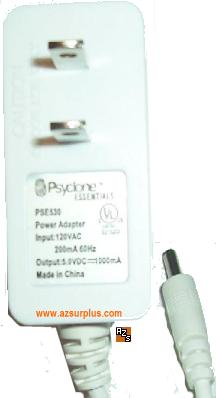 PSYCLONE ESSENTIALS PSE530 POWER ADAPTER 5V 1000mA POWER SUPPLY